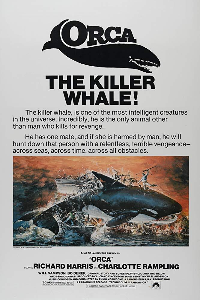 Retour vers le passé : Orca (1977)