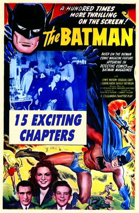 Retour vers le passé : Batman (1943)