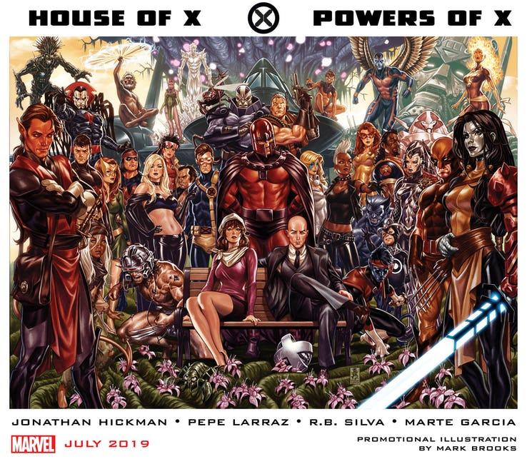 Actu V.O. : Jonathan Hickman sur les X-Men !
