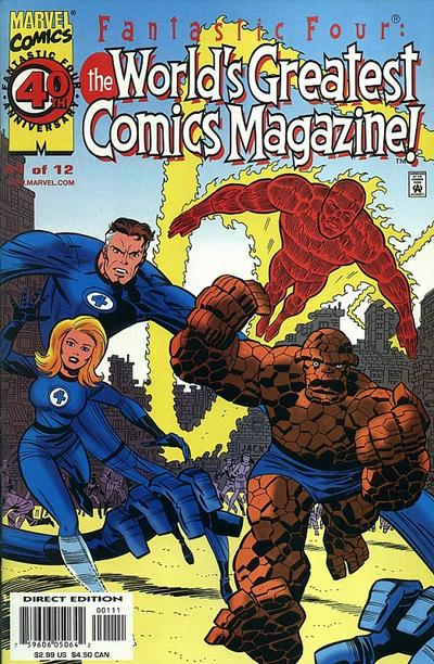 Fantastic Four: The Greatest Comic Magazine vu par Jim Lainé