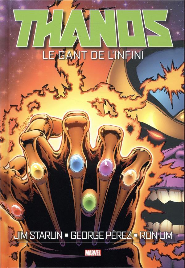 LECTURE EN LIGNE : LE GANT DE L'INFINI (Panini comics)