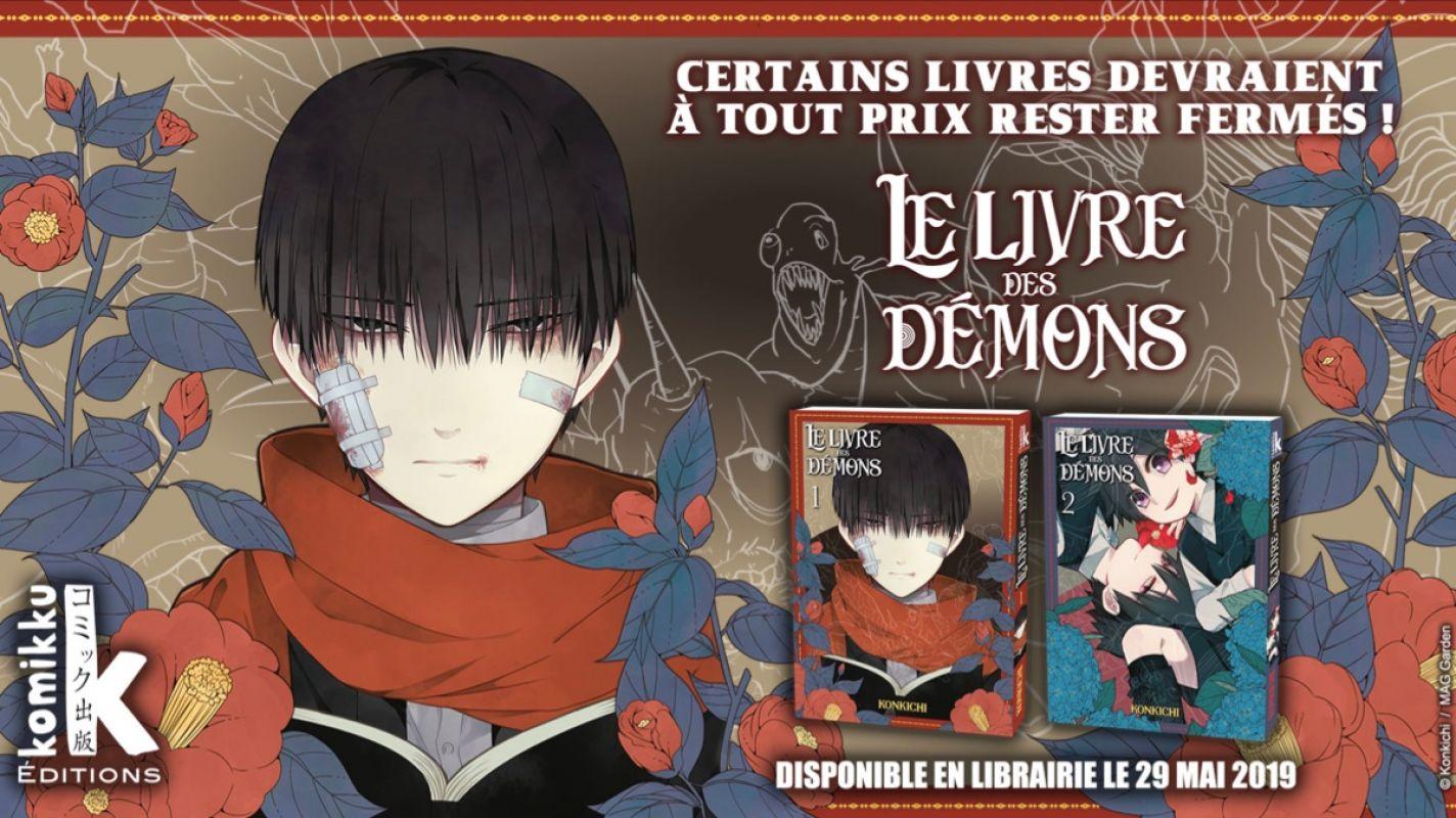 Le Livre des Démons chez Komikku