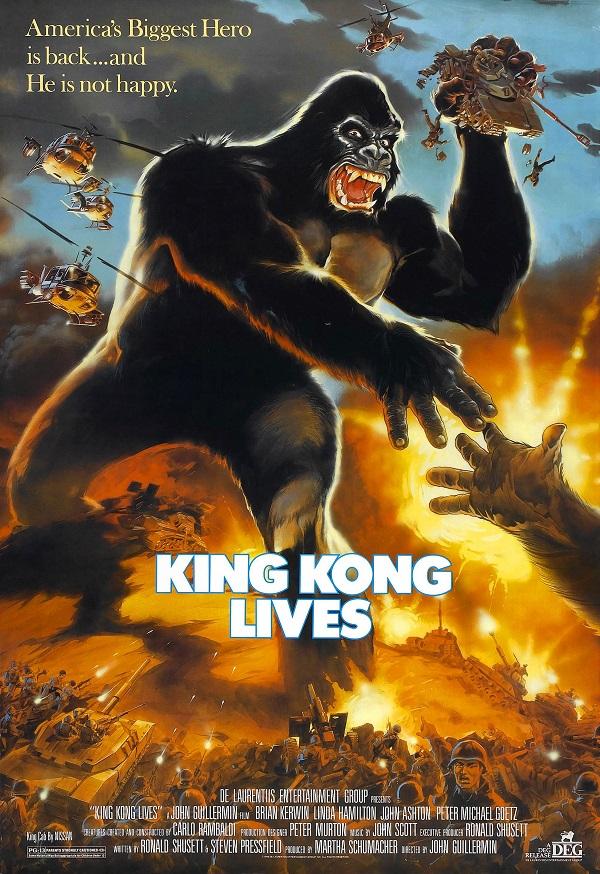 Retour vers le passé : King Kong 2 (1986)