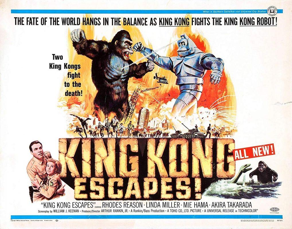 Retour vers le passé : La Revanche de King Kong (1967)