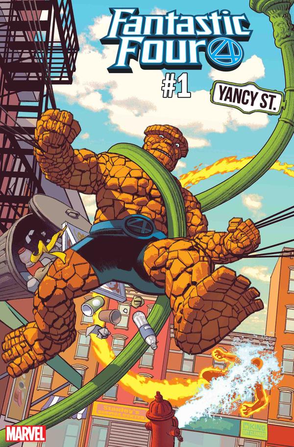 Actu V.O. : Fantastic Four - 4 Yancy Street