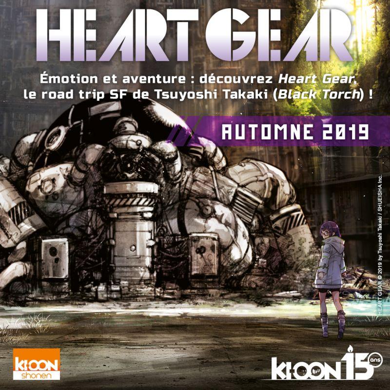 Heart Gear chez Ki-oon