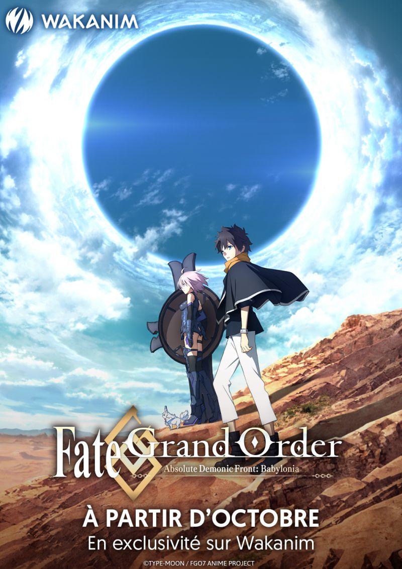 Fate/Grand Order Babylonia chez Wakanim