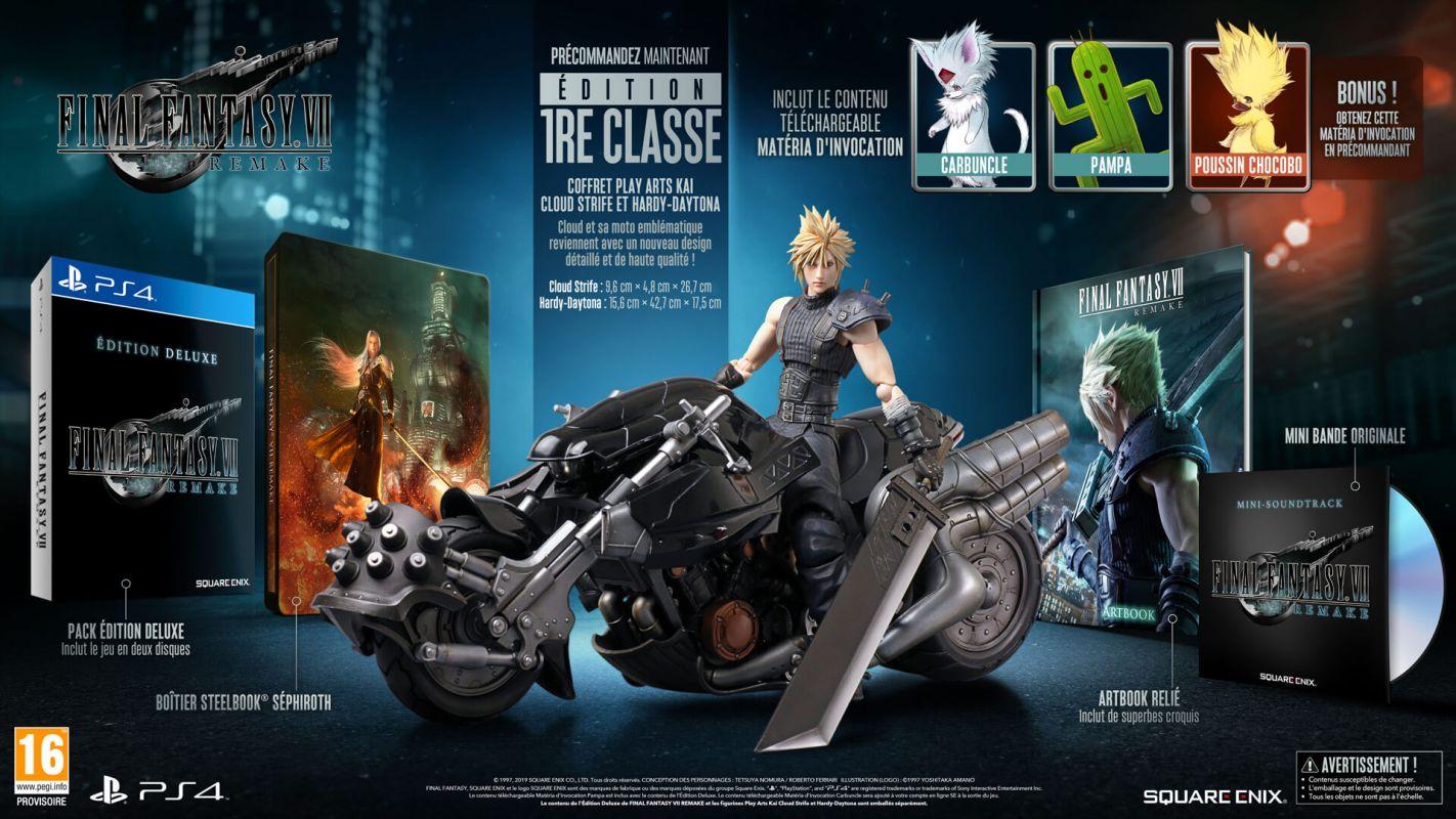 Nouveau trailer pour Final Fantasy VII Remake