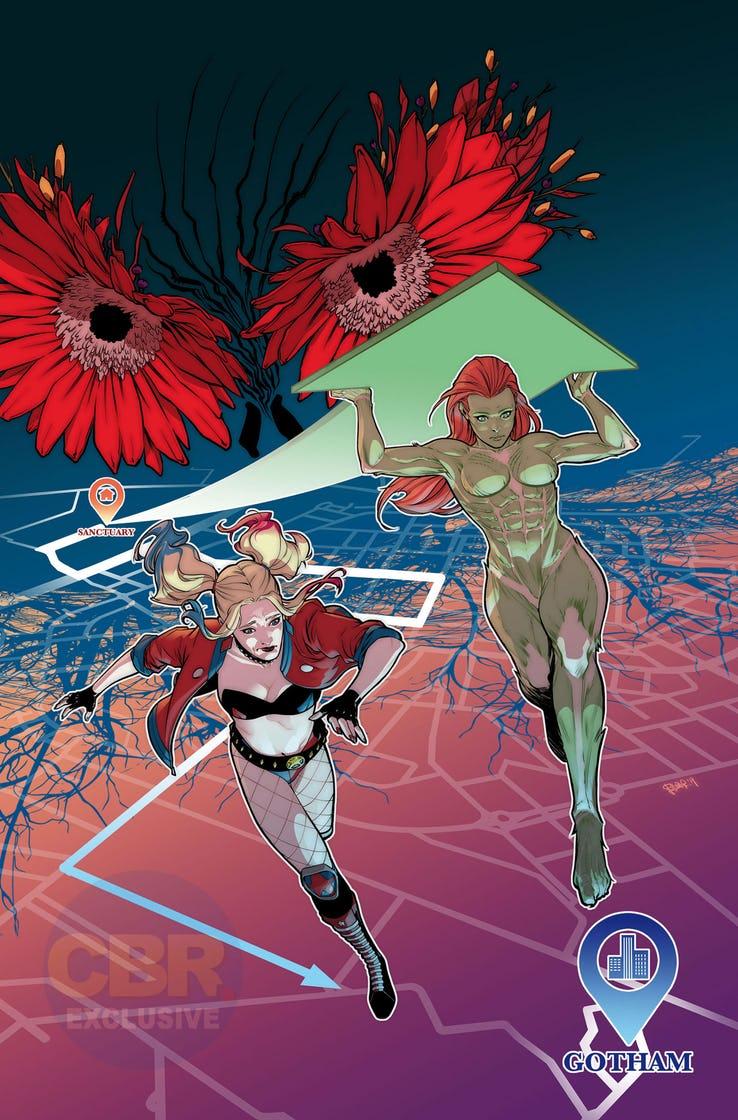 Actu V.O. : Harley Quinn & Poison Ivy