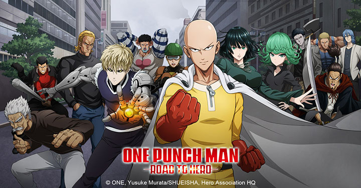 One Punch Man débarque en jeu mobile