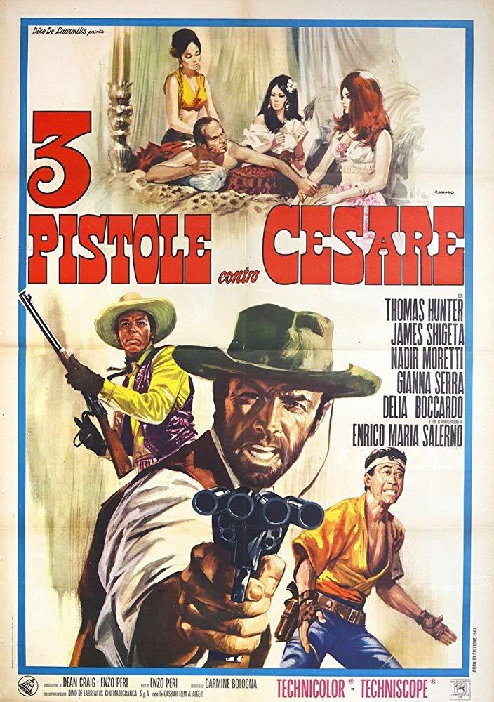 Retour vers le passé : Trois pistolets contre César (1967)