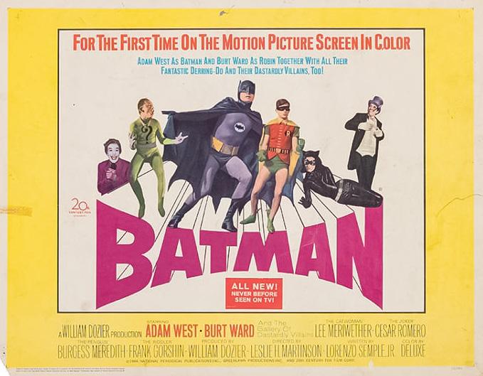 Retour vers le passé : Batman (1966)