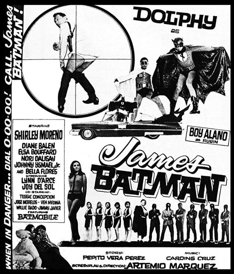 Retour vers le passé : James Batman (1966)