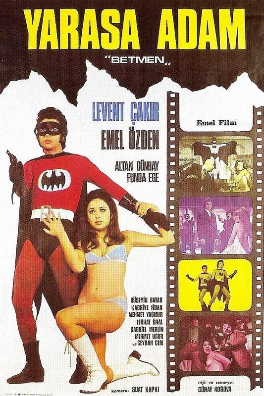 Retour vers le passé : Yarasa Adam Betmen / Turkish Batman (1973)