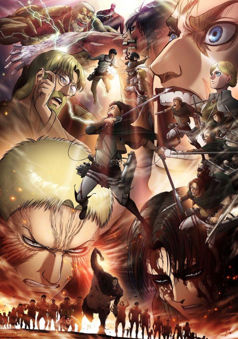 Une dernière saison pour l'animé Shingeki No Kyojin