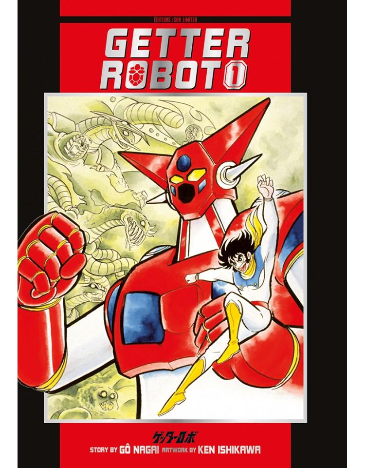 Getter Robot chez Isan Manga
