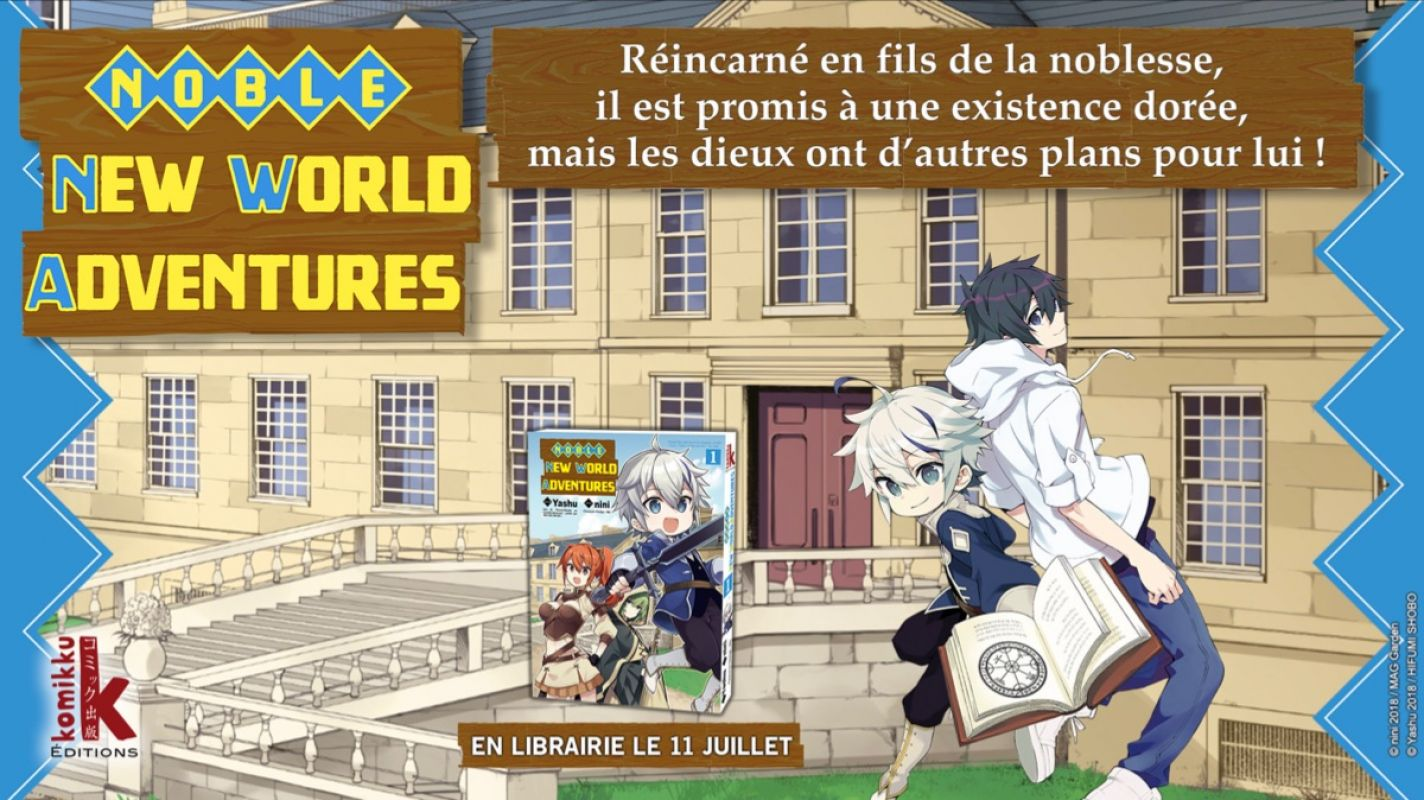 Noble New World Adventures chez Komikku