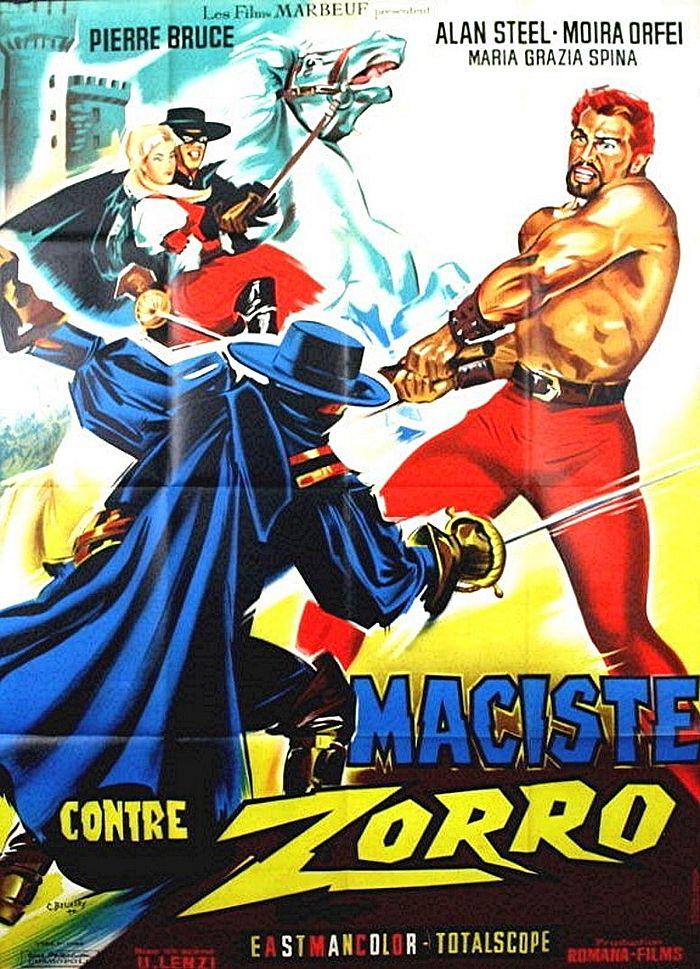 Retour vers le passé : Maciste contre Zorro (1963)