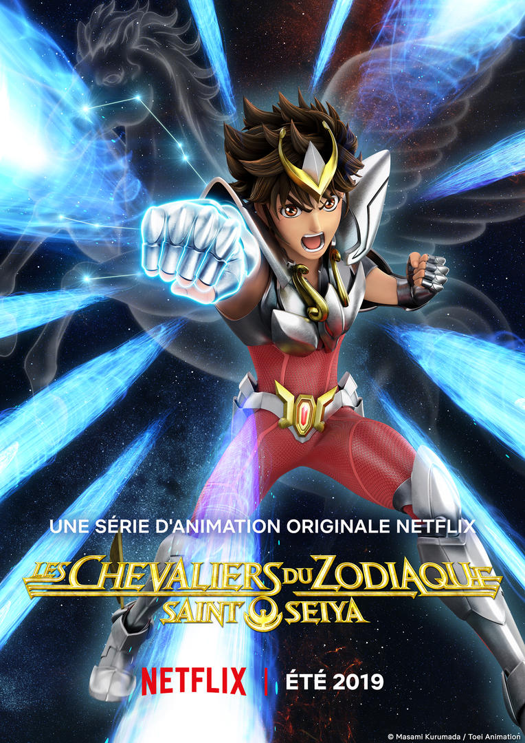 Nouveau trailer pour Saint Seiya version Netflix