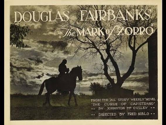 Retour vers le passé : Le Signe de Zorro (1920)