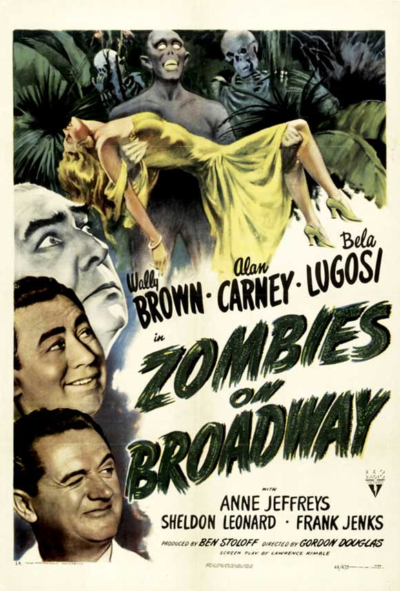Actu V.O. : Zombies on Broadway (1945)