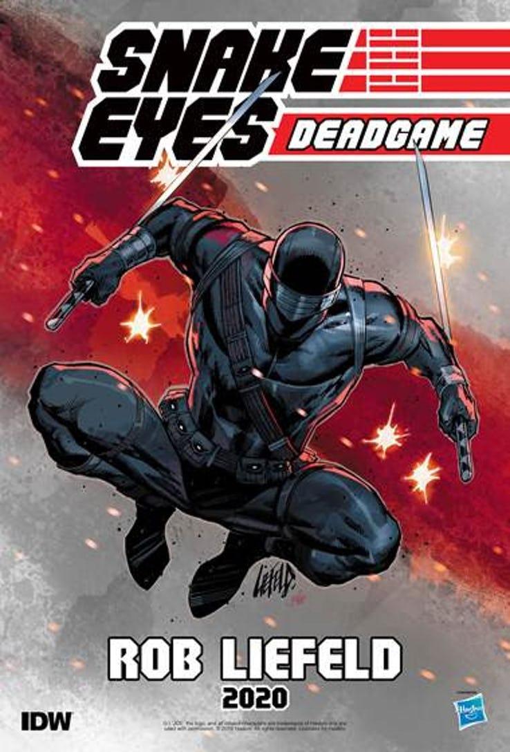 Actu V.O. : Snake Eyes par Rob Liefeld !