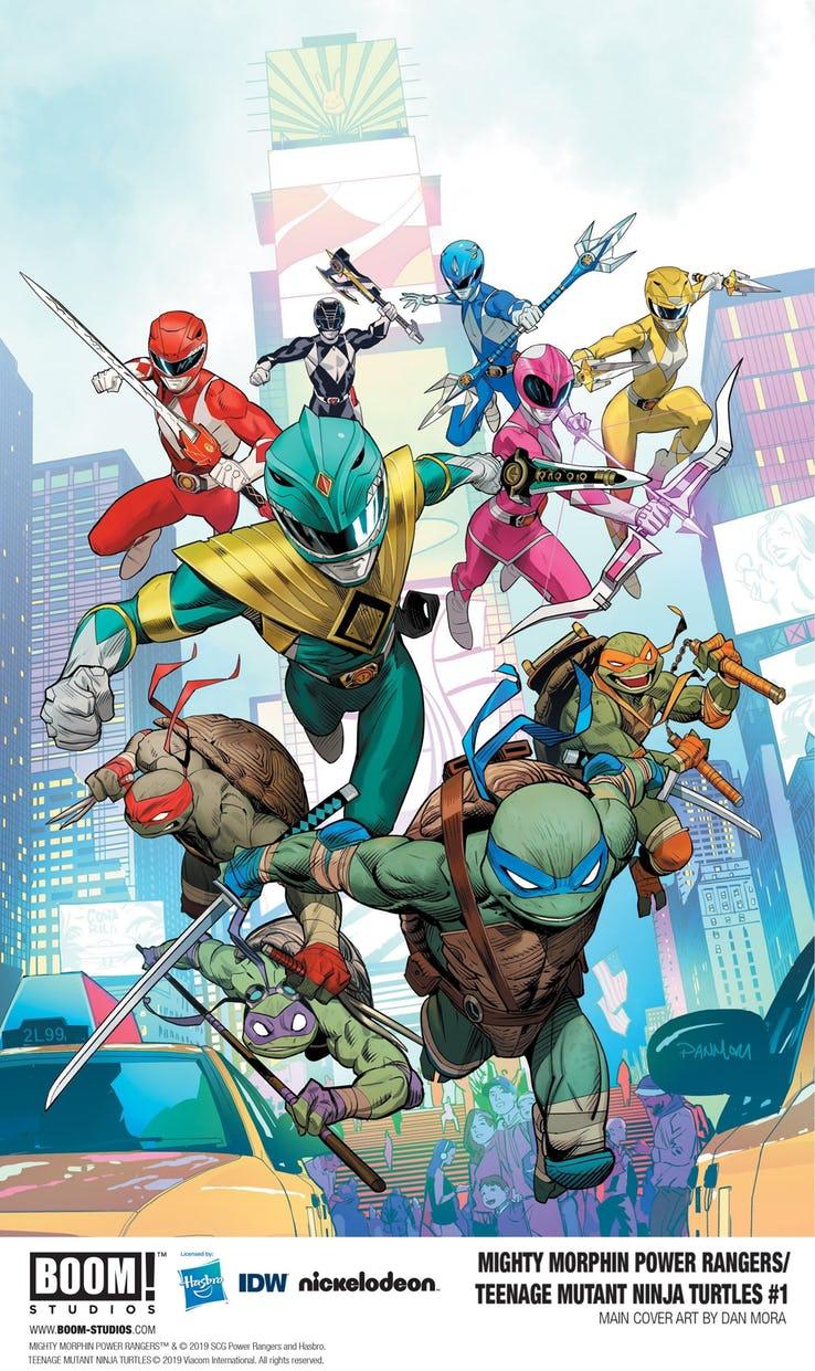 Actu V.O. : Power Rangers / Ninja Turtles !