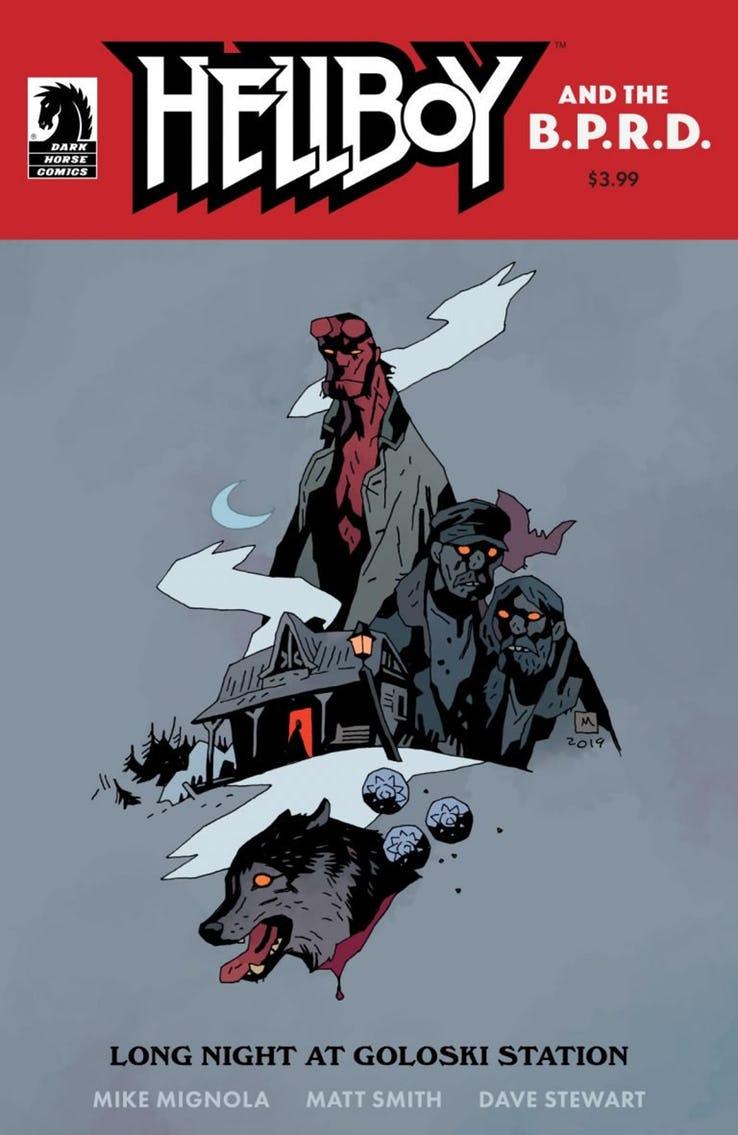 Actu V.O. : Un nouveau one-shot pour Hellboy !