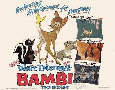 Retour vers le passé : Bambi (1942)