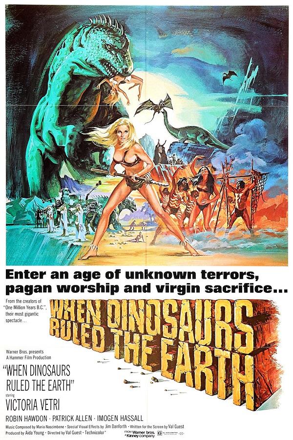 Retour vers le passé : Quand les dinosaures dominaient le monde (1970)