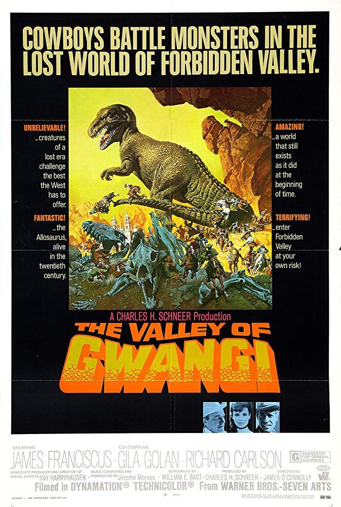 Retour vers le passé : La Vallée de Gwangi (1969)