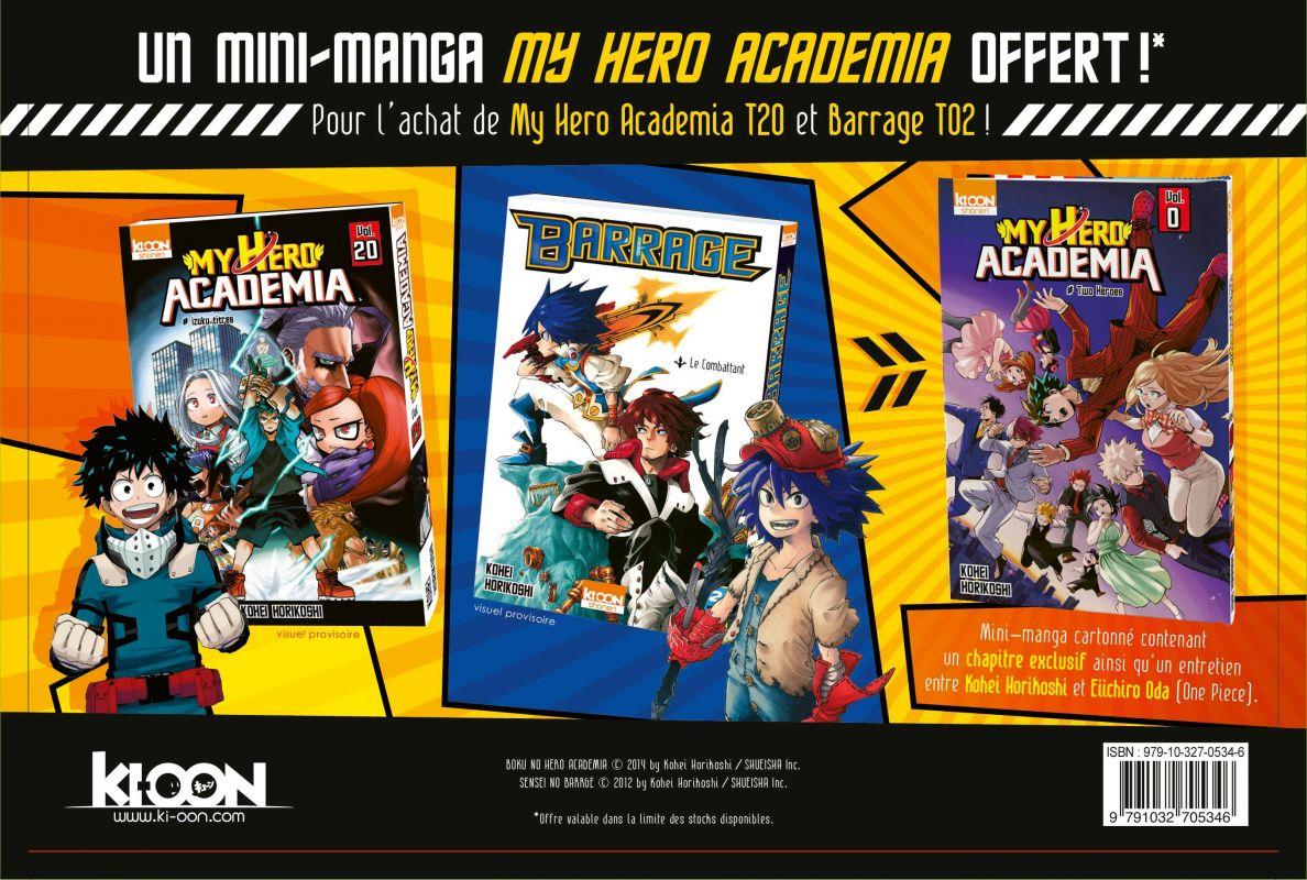 Un mini-tome My Hero Academia a découvrir en offre spéciale !