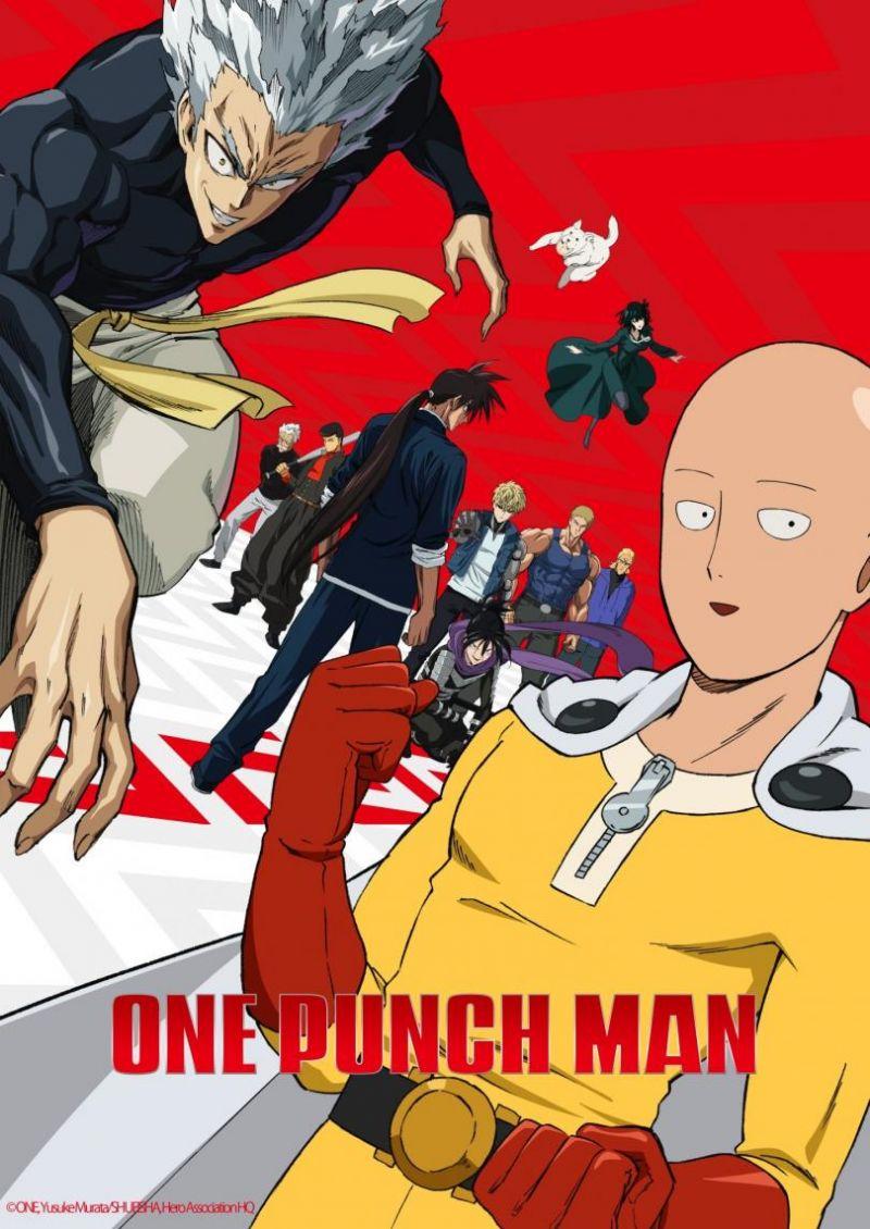 Un extrait pour l'OAV de One Punch Man S2
