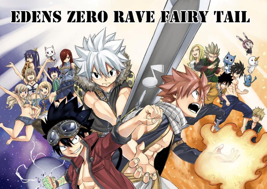 Un crossover des univers d'Hiro Mashima en manga annoncé