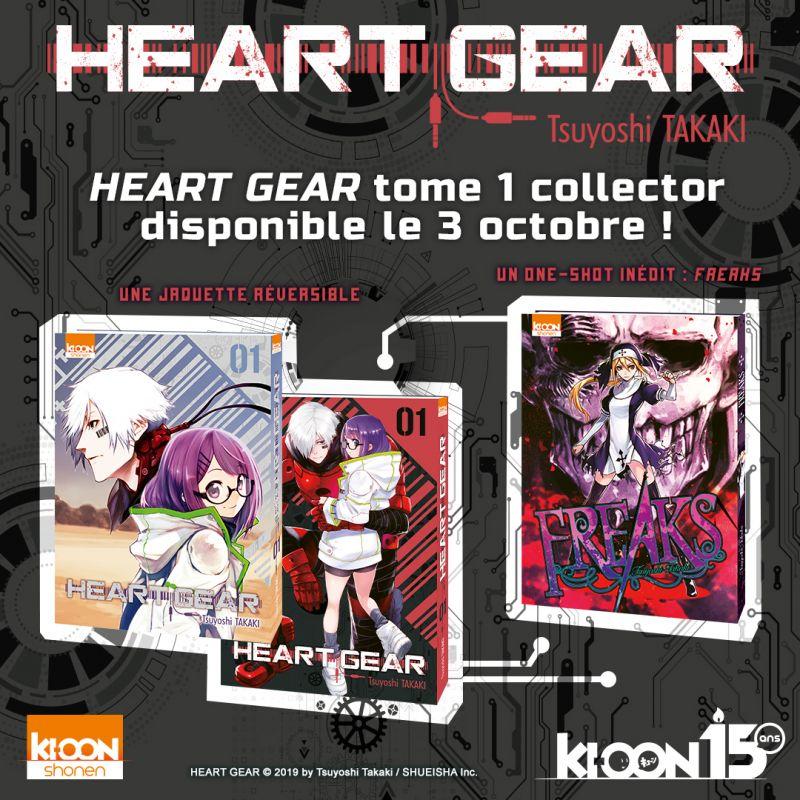 Les premières pages de Heart Gear à découvrir en ligne