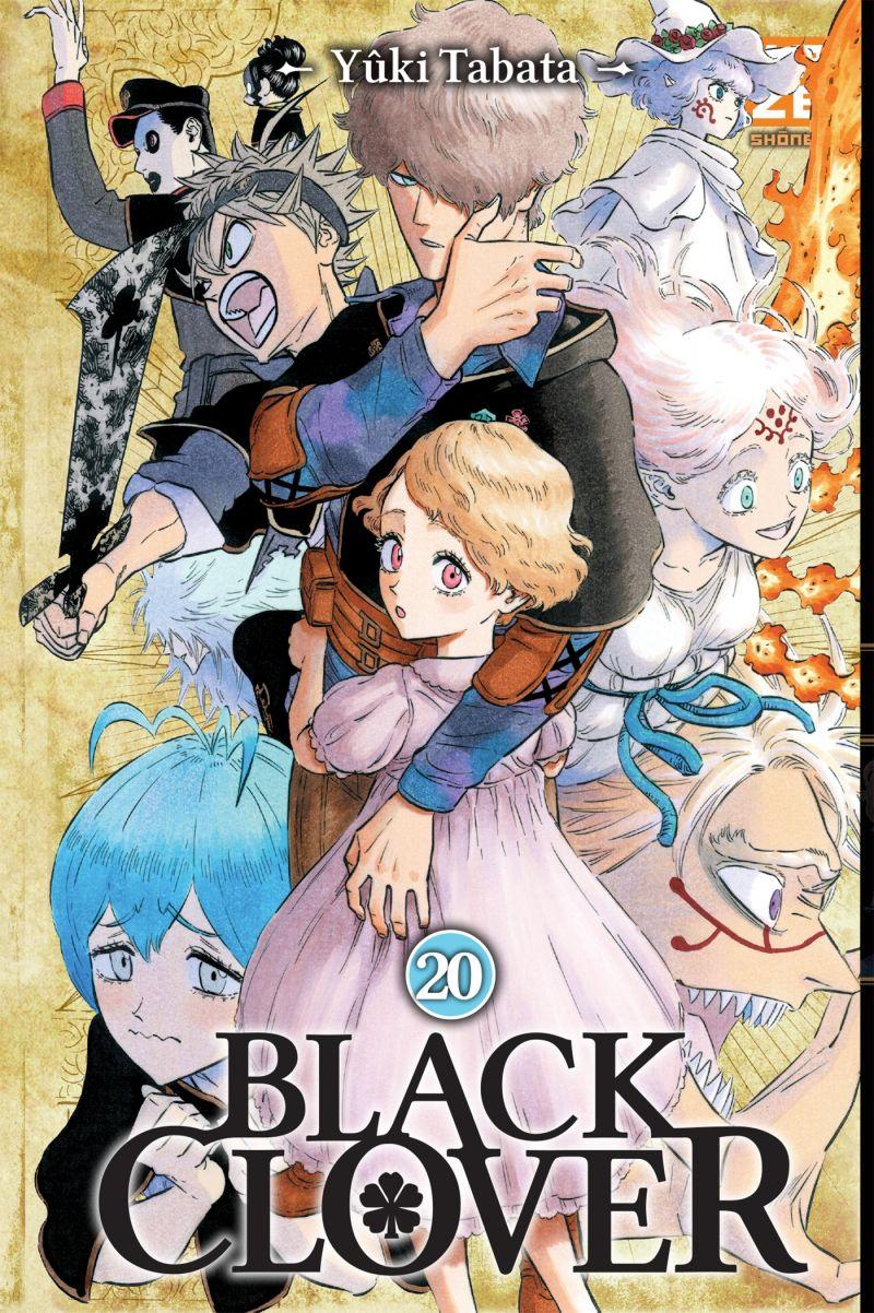 Un nouveau roman pour Black Clover