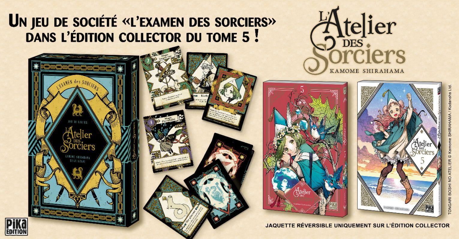 Une collector pour le prochain tome de L'Atelier des Sorciers