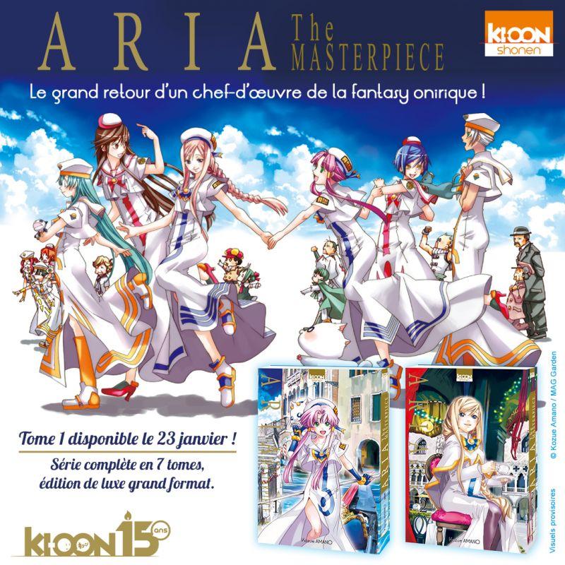 Aria The Masterpiece chez Ki-oon