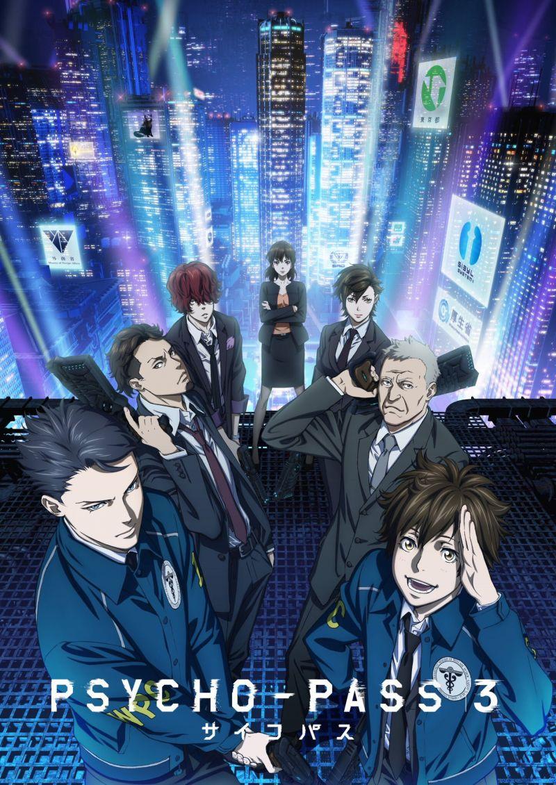 Une adaptation en manga pour Psycho-Pass 3