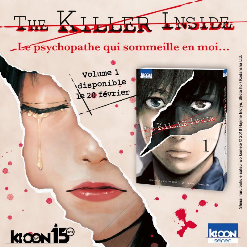 The Killer Inside chez Ki-oon