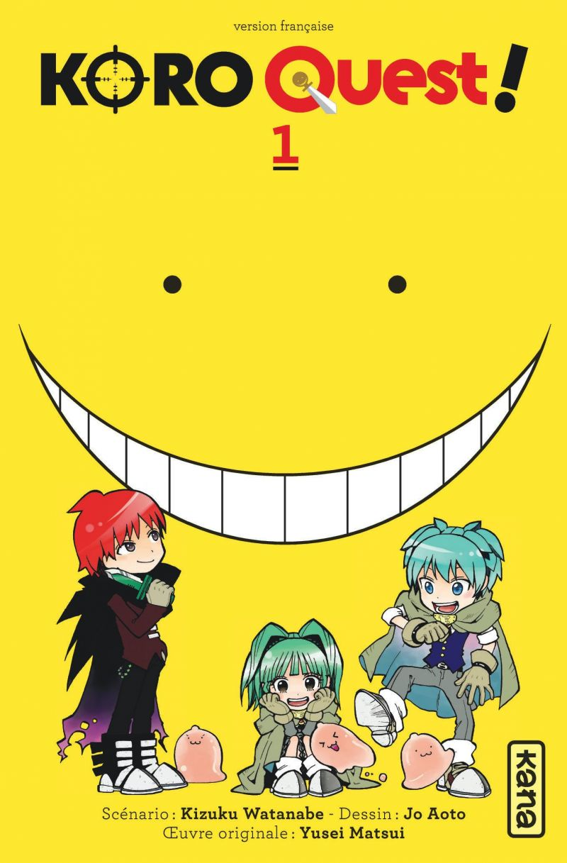Le manga Koro Quest se termine