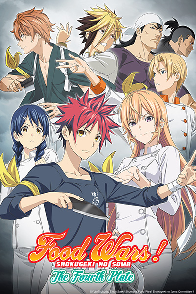 Food Wars The Fourth Plate en simulcast sur Crunchyroll
