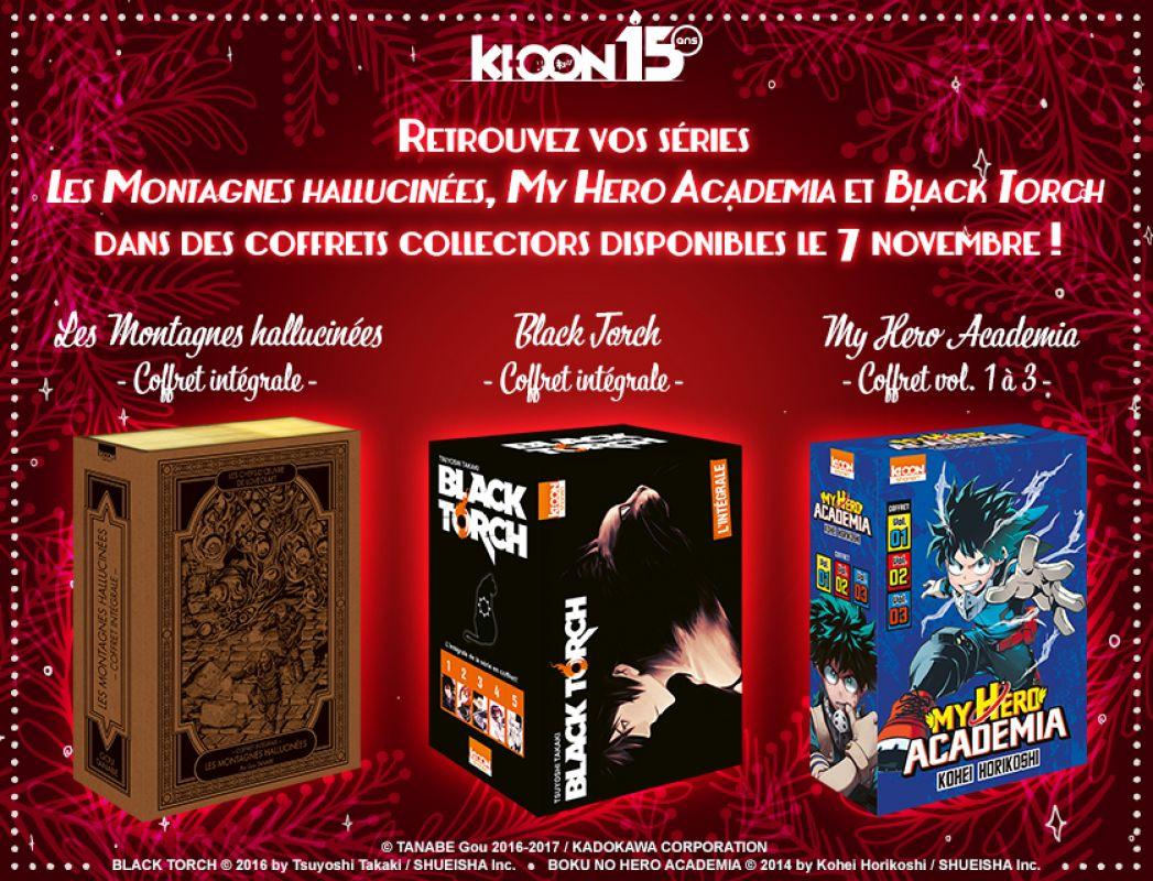 Des coffrets collectors pour les mangas de chez Ki-oon