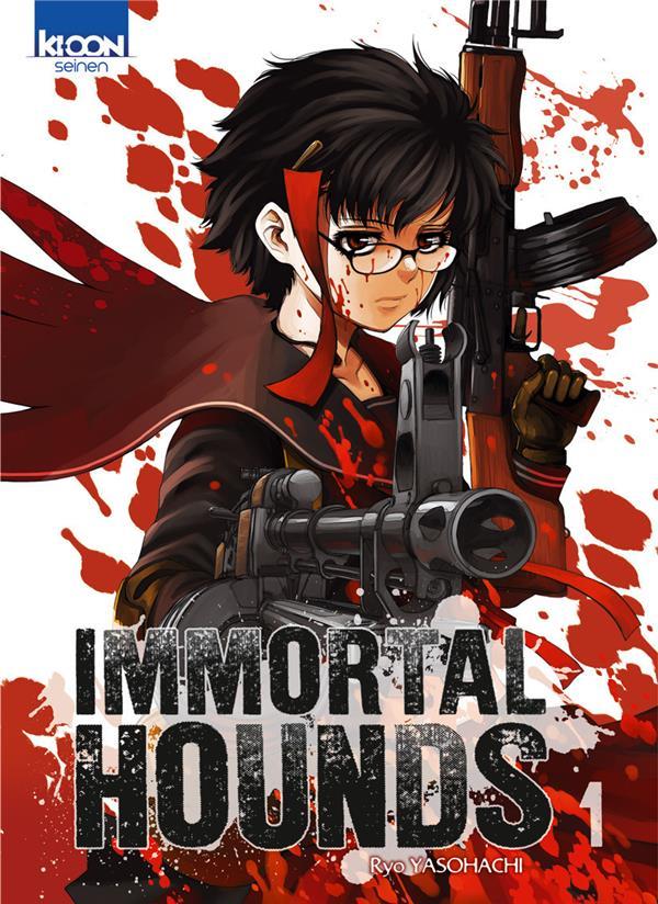 Un septième tome pour le manga Immortal Hounds