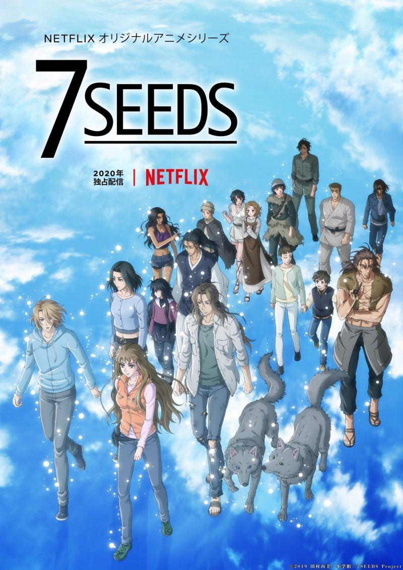 Une saison 2 pour l'animé 7 Seeds