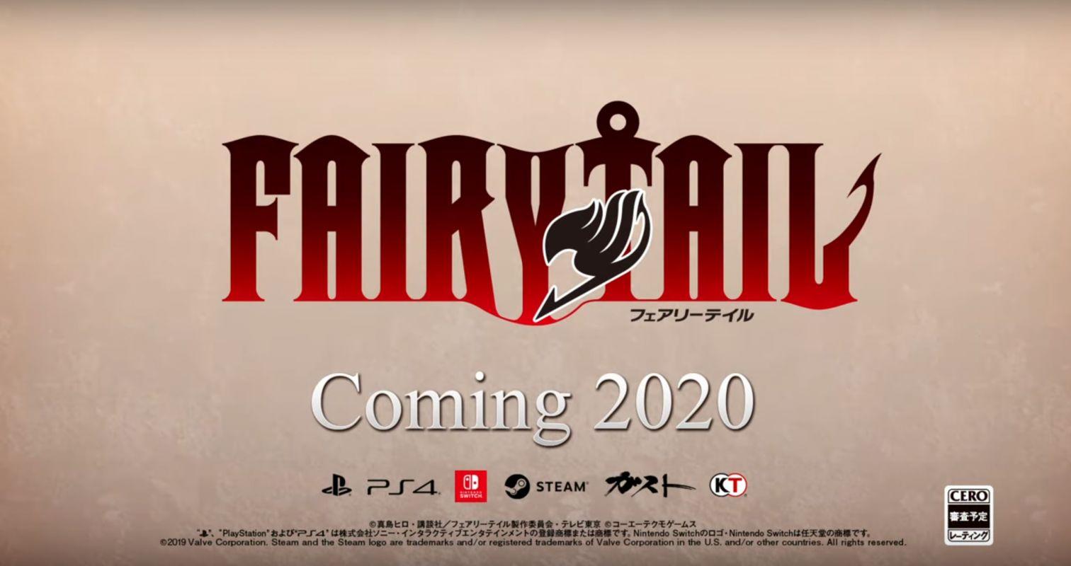 Nouveau trailer pour le jeu Fairy Tail