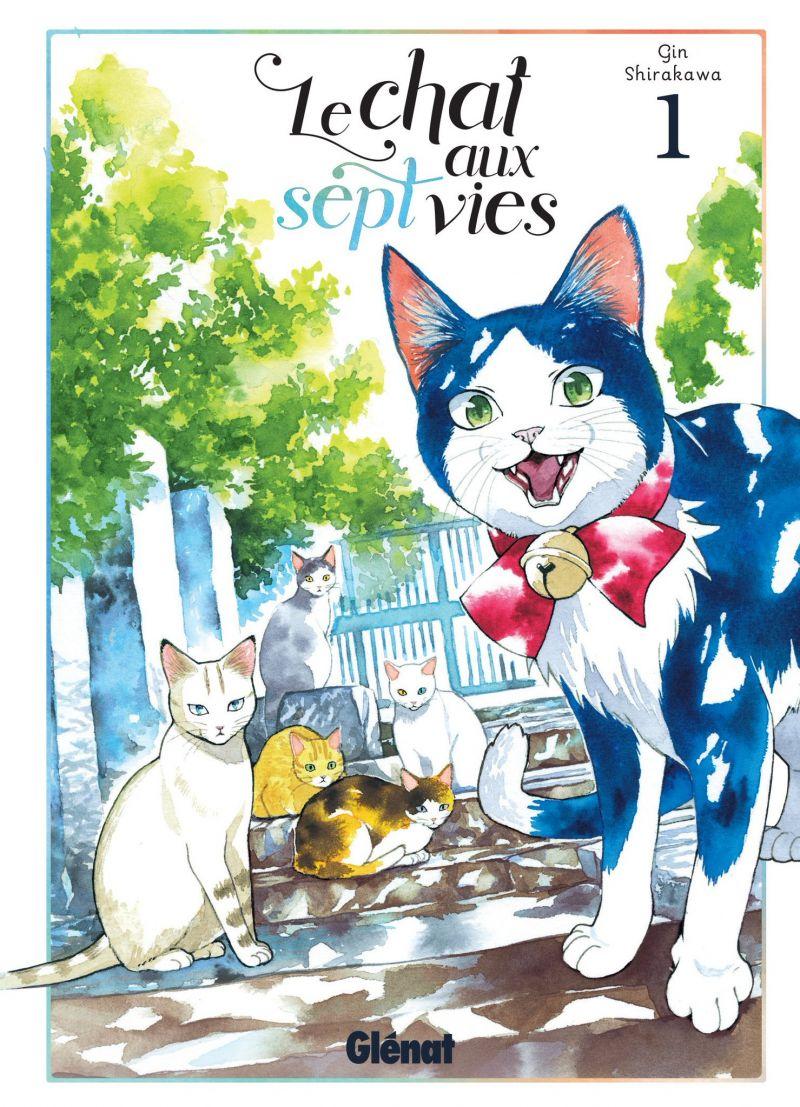 Le Chat aux Sept Vies chez Glénat
