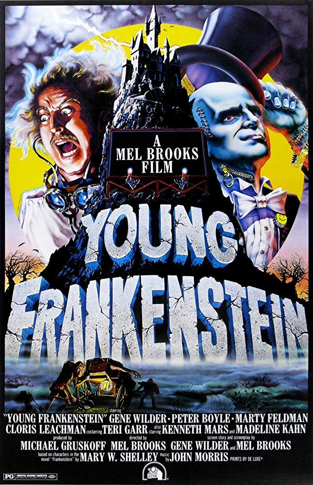 Retour vers le passé :  Frankenstein Junior (1974)