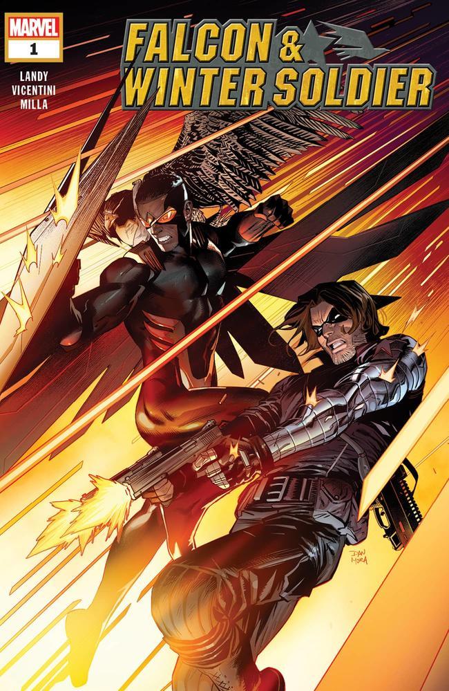 Actu V.O. : Falcon & Winter Soldier