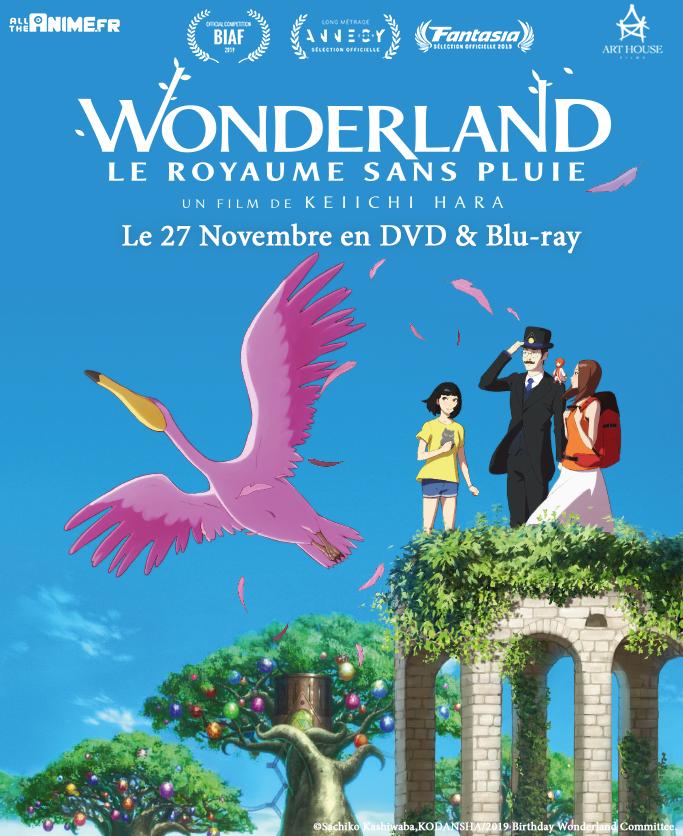 Le film Wonderland Le Royaume Sans Pluie arrive en DVD et blu-ray